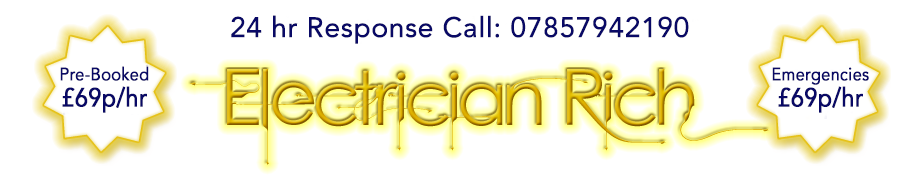 Electrician Rich Call 07857942190